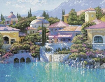 Lago Bellagio 2003 Limited Edition Print - Howard Behrens