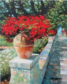 Villa Cimbrone Embellished 2010 Limited Edition Print - Howard Behrens