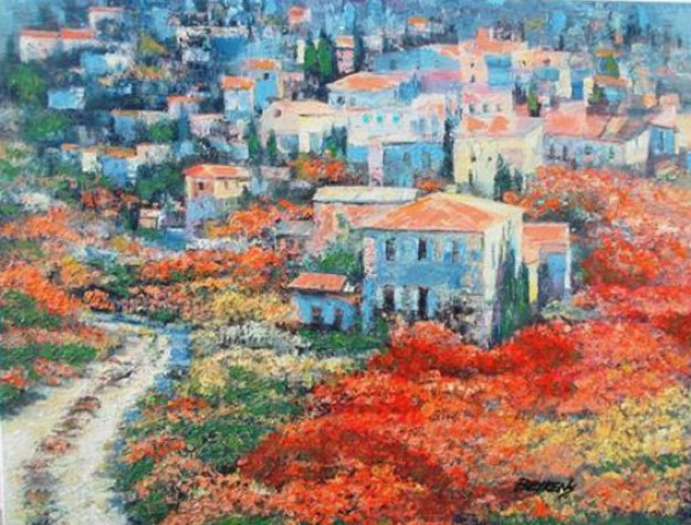 Tuscany Embellished 2010 Limited Edition Print by Howard Behrens