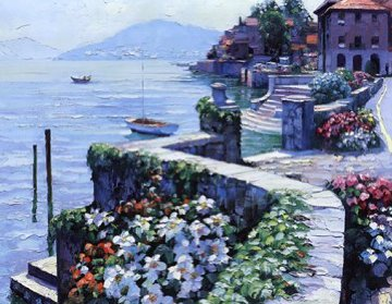 Il Lago Como 1991  Limited Edition Print by Howard Behrens