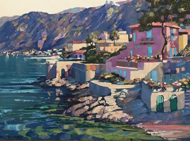 Riviera AP 1987 Limited Edition Print by Howard Behrens