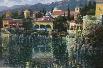 Reflections of Italy 2005 Embellished Limited Edition Print by Howard Behrens