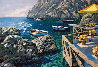 Cafe Capri AP Embellished 2003 Limited Edition Print by Howard Behrens - 0