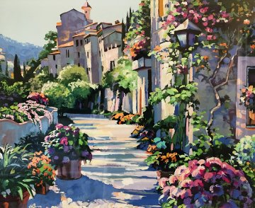 Burgundy 1992 Limited Edition Print by Howard Behrens