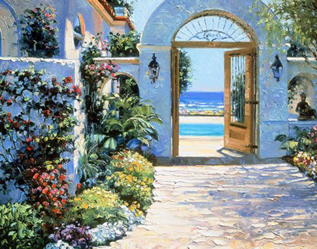 Hotel California 1995 Limited Edition Print by Howard Behrens