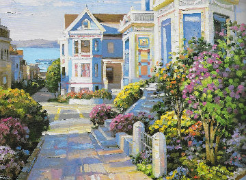 California Views Suite of 2 Serigraphs 1994 Limited Edition Print by Howard Behrens