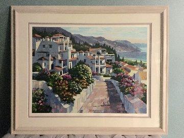 Mijas Greece 1990 Limited Edition Print by Howard Behrens