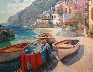 Capri Boats 2007 Limited Edition Print by Howard Behrens