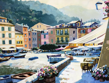 Portifino Light 1989 Limited Edition Print - Howard Behrens