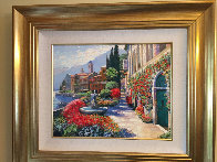 Along Lake Como #2 2007 Embellished Limited Edition Print by Howard Behrens - 1