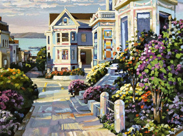 Grove Street 1994 Limited Edition Print by Howard Behrens