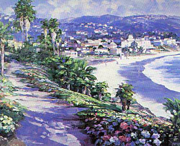 Laguna Beach 1989 Limited Edition Print by Howard Behrens