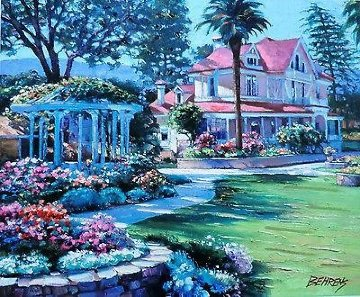 Napa Valley 1990 Limited Edition Print by Howard Behrens