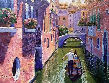 Pink Canal 2003   Limited Edition Print - Howard Behrens