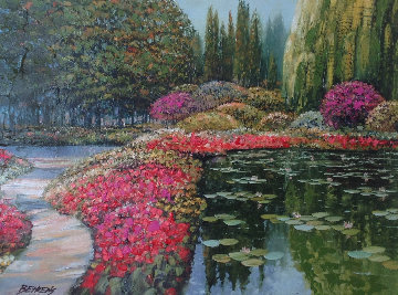 Colors of Giverny 2006 Embellished Limited Edition Print by Howard Behrens