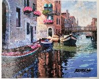 Magic of Venice II AP  Embellished Limited Edition Print by Howard Behrens - 1
