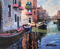 Magic of Venice II AP  Embellished Limited Edition Print by Howard Behrens - 0
