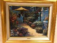 Nantucket Flower Market Embellished 2010 Limited Edition Print by Howard Behrens - 3