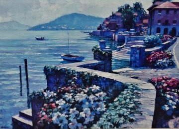 Lago Como Italy 1991 Limited Edition Print - Howard Behrens