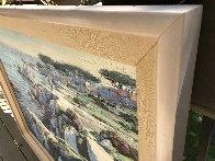 Monterey Walkway 44x56 Super Huge Original Painting by Howard Behrens - 4