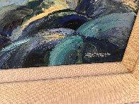 Monterey Walkway 44x56 Super Huge Original Painting by Howard Behrens - 3