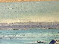 Monterey Walkway 44x56 Super Huge Original Painting by Howard Behrens - 2