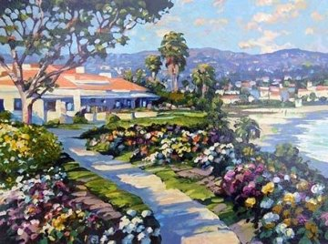Grove Street Canvas and Las Brisas, Set of 2  1994 Embellished Limited Edition Print by Howard Behrens