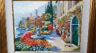 Splendor of Italy Embellished Limited Edition Print by Howard Behrens - 2