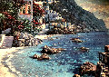 Untitled Seascape 20x30 Original Painting - Howard Behrens