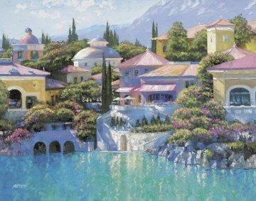Lago Bellagio 2003 Limited Edition Print by Howard Behrens