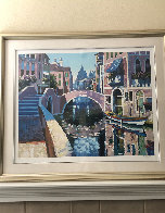 Reflections of Venice 1996 AP Limited Edition Print by Howard Behrens - 1