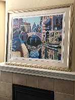 Reflections of Venice 1996 AP Limited Edition Print by Howard Behrens - 3
