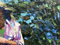 Dee Dee 1981 39x55 Super Huge Original Painting by Howard Behrens - 2