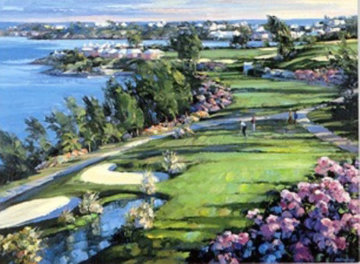 18th Fairway 1990 Limited Edition Print - Howard Behrens