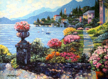 Varenna Morning AP Embellished 2010 Limited Edition Print - Howard Behrens