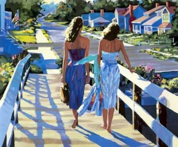 Bethany Beach 1987 Limited Edition Print by Howard Behrens