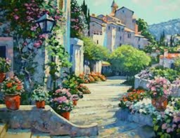 Old World Charm 1990 Limited Edition Print by Howard Behrens