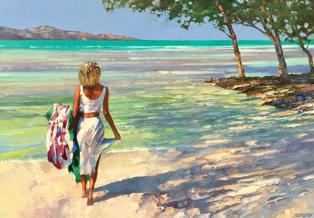My Beloved 40x54 Original Painting by Howard Behrens