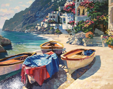 Capri Boats 1996 Limited Edition Print - Howard Behrens