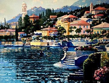 Recollections of Lake Como Limited Edition Print by Howard Behrens