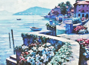 Lago Como, Italy 1991 Limited Edition Print by Howard Behrens