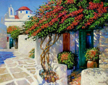 Memories of Mykonos Limited Edition Print - Howard Behrens