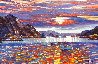 Sunset on the Med 2005 30x46 Original Painting by Howard Behrens - 0