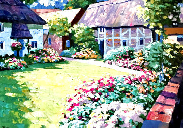 English Garden AP 1989 Limited Edition Print - Howard Behrens
