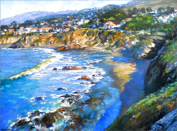 California Shores 2001 Embellished Limited Edition Print - Howard Behrens