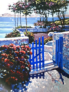 Blue Gate Limited Edition Print - Howard Behrens