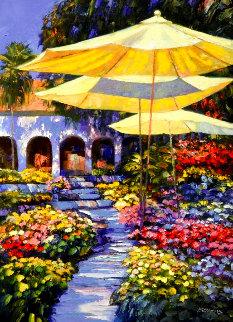 Mediterranean Gardens AP Limited Edition Print - Howard Behrens