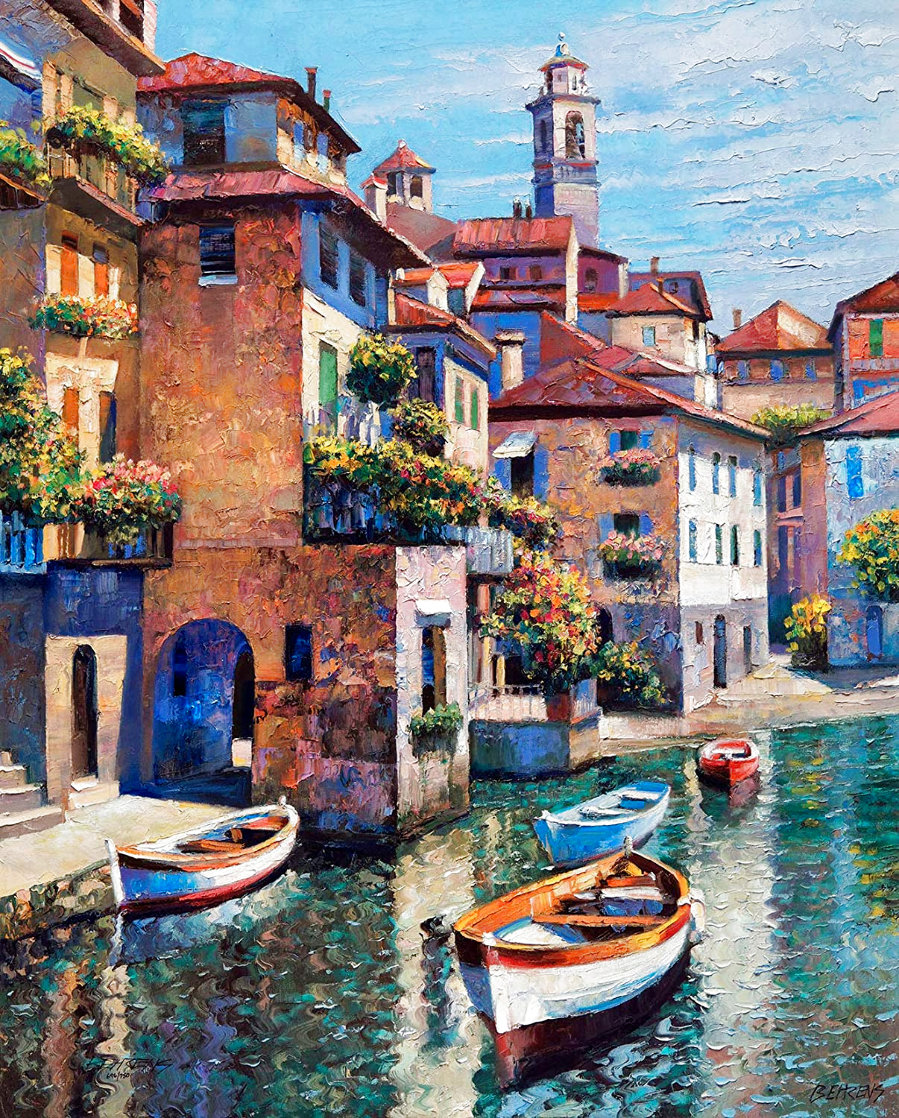 Hidden Cove - Lake Como 2002 Limited Edition Print by Howard Behrens