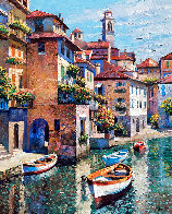 Hidden Cove - Lake Como 2002 Limited Edition Print by Howard Behrens - 0