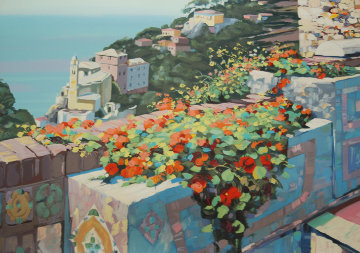 La Terrazza Limited Edition Print by Howard Behrens
